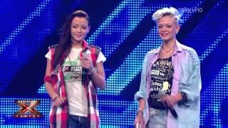 X Factor 2012 - Giulia e Silvia Provvedi