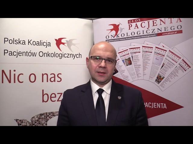 Rzecznik Praw Pacjenta Bartłomiej Chmielowiec | Debata Narodowa Strategia Onkologiczna