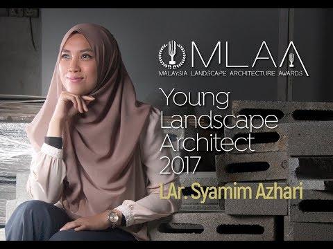 LAr. Syamim Azhari - MLAA 2017 Young Landscape Architect Award Recipient