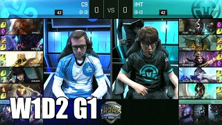 Cloud 9 vs Immortals | Game 1 S6 NA LCS Summer 2016 Week 1 Day 2 | C9 vs IMT G1 W1D2 1080p