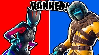 Classement ALL Season 7 Fortnite Skins (Battle Pass) (Saison 7 Battle Pass Skins Ranked)