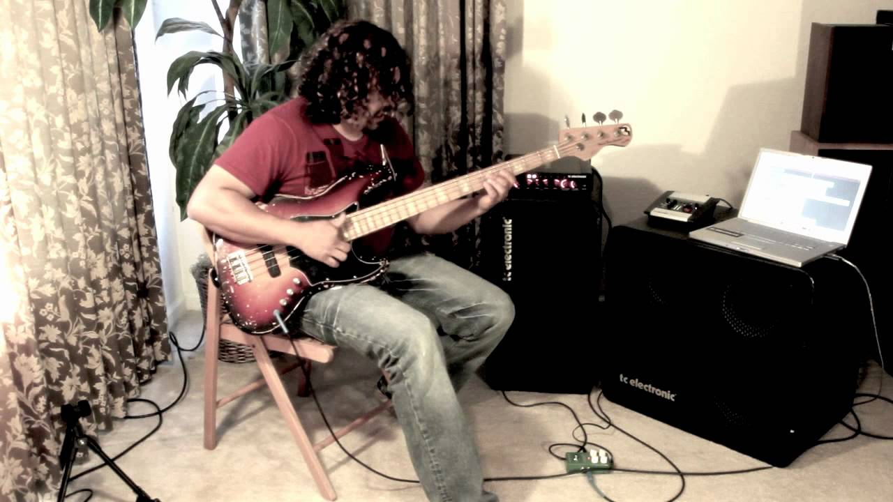 tc electronic corona chorus & Marco Bass by Ariel. - YouTube