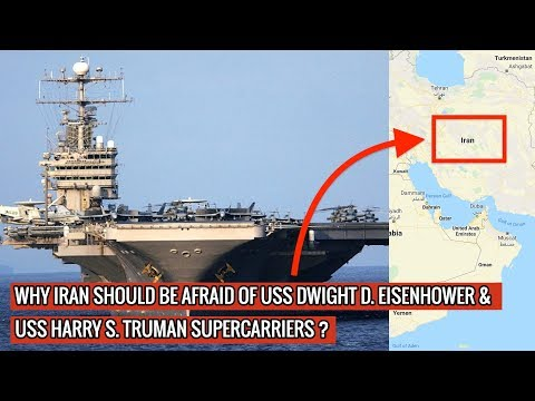 US NAVY NOW DEPLOYS TWO SUPERCARRIERS - USS EISENHOWER & USS TRUMAN IN MIDDLE EAST !