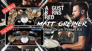 August Burns Red - Matt Greiner Drum Kit | Real Drum App Preset Kit