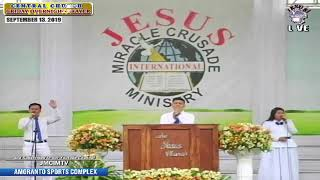 Please Watch!!! JMCIM Central Live Streaming of SUNDAY GENERAL WORSHIP | SEPTEMBER 15, 2019.