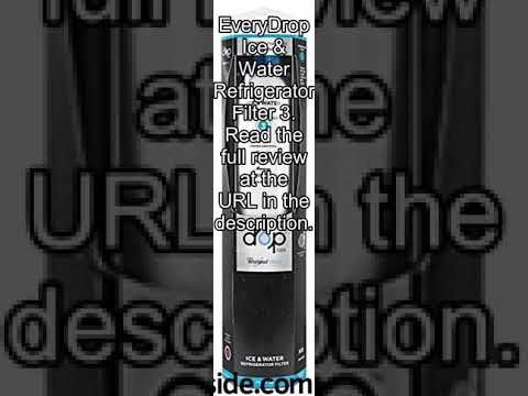 EveryDrop by Whirlpool Refrigerator Water Filter 3 (Pack of 1) review