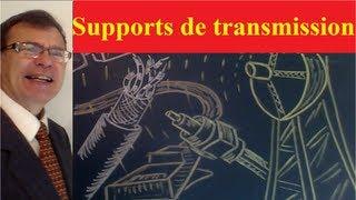 Supports de transmission d