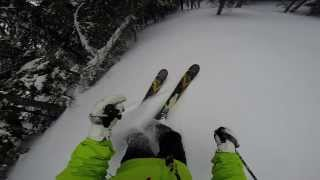 GoPro 3rd video trees skiing Park City Cool shots Thumbnail