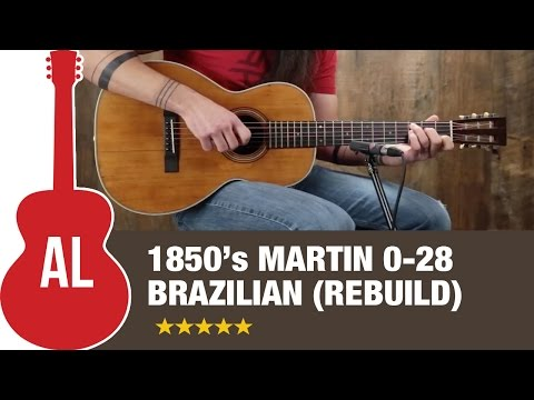 1850's Martin 0-28 Brazilian Rosewood (Rebuild)