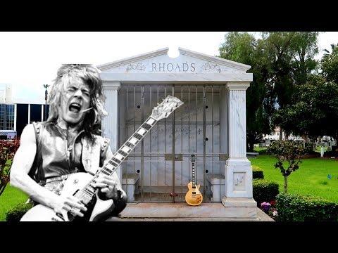 #959 The Grave of RANDY RHOADS- Guitar LEGEND - Ozzy Osbourne - Jordan Daily Travel Vlog (3/23/19)
