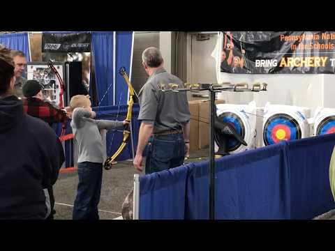 Archery Hall At Great American Outdoor Show