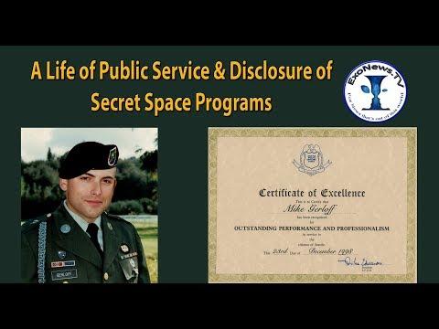 A Life of Public Service & Disclosure of Secret Space Programs