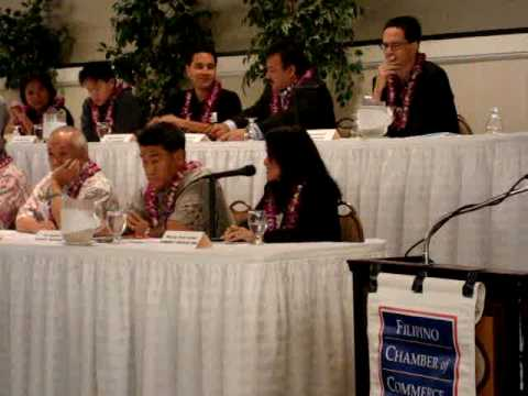 FCCH 2009 Breakfast - Rep Pine discusses leadership climate in Hawaii