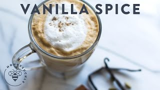 Vanilla Spice Latte - Coffee Break Series - Honeysucklecatering