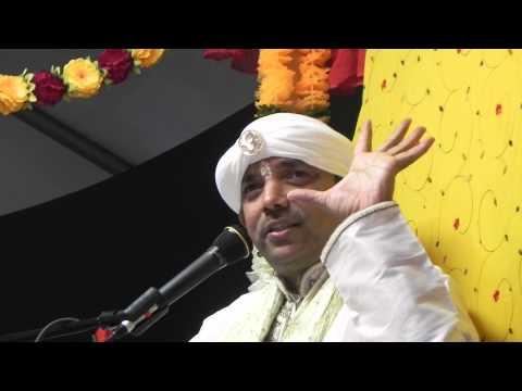 Pt. Chunelall Narine at Shri Raam Mandir in Schenectady, NY