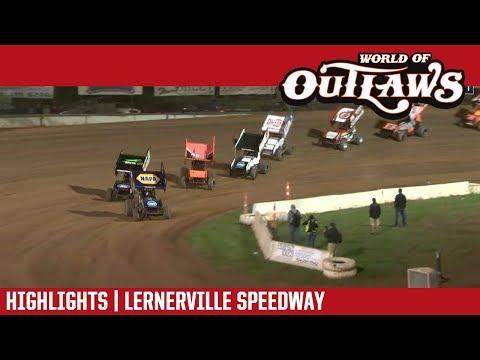 World of Outlaws Craftsman Sprint Cars Lernerville  Speedway September 22, 2018 | HIGHLIGHTS