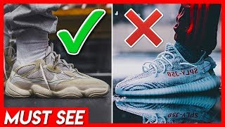 Are They Better? Yeezy Desert rat 500 or Yeezy boost 350 V2...Which is MORE Trendy!