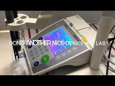 Calibrate Test Check Mettler Toledo SevenEasy SevenMulti PH/conductivity SevenCompact PH Meter Sets