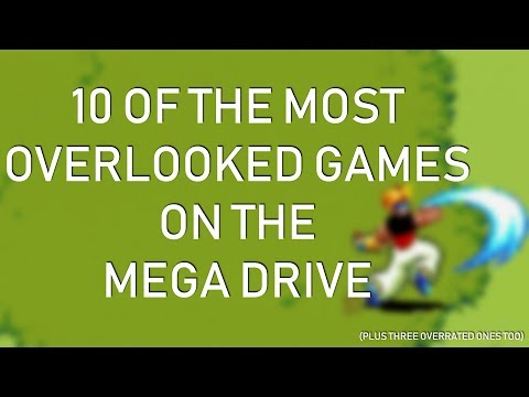 10 Of The Most Overlooked Mega Drive Games (And Three Of The Most Overhyped)
