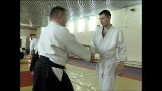 Первый урок Айкидо - First Aikido lesson