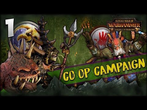 SKARSNIK'S HUNT! Total War: Warhammer - Crooked Moon + Bloody Handz Co-op w/ MrSmartDonkey #1