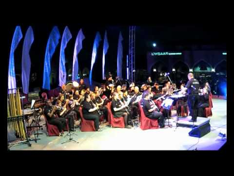 Doha Wind Orchestra - pixar movie magic