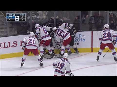 New York Rangers vs Los Angeles Kings 3.17.16