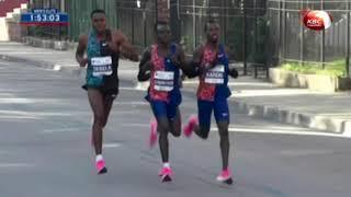 Brigid Kosgei sets new world record in Chicago marathon