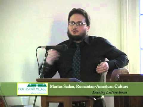 Lecture - Romanian-American Culture