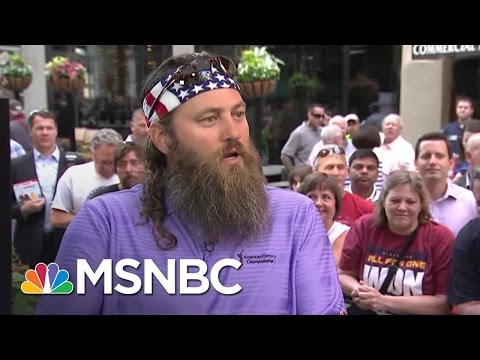 Duck Dynasty Star Willie Robertson: Donald Trump Resonated With Me | MSNBC