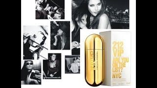 CAROLINA HERRERA 212 VIP Reseña de perfume