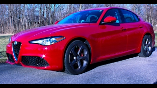 2017 Alfa Romeo Giulia Driving Review