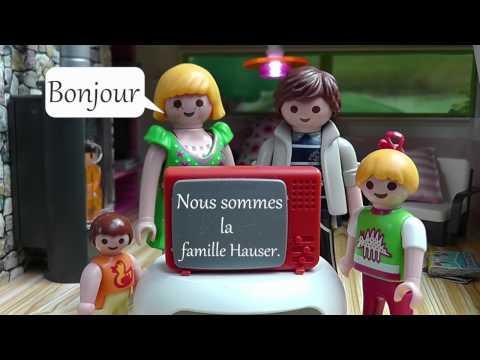 Playmobil en français - La famille Hauser - film pour enfants
