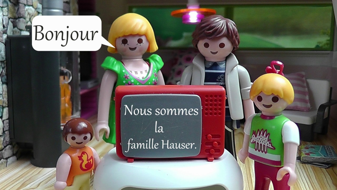 playmobil en fran ais la famille hauser film pour enfants youtube. Black Bedroom Furniture Sets. Home Design Ideas