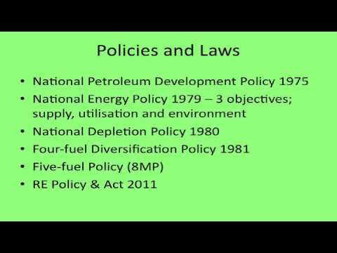 Energy Security, Clean Energy & Climate Change: Malaysia Overview