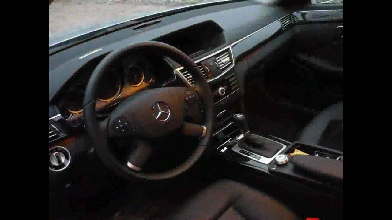 Mercedes Benz Rv >> 2010 Mercedes Benz E220 CDI Interior - YouTube