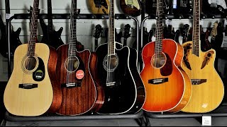 Top 5 Best Electro Acoustic Guitar for Beginners Comparison