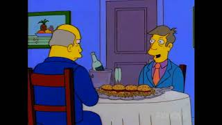 Steamed Hams but you hear everyone's thoughts and the ending is realistic