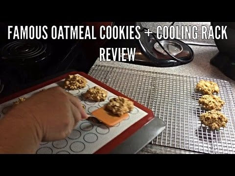 Famous Oatmeal Cookies + Cooling Rack Review