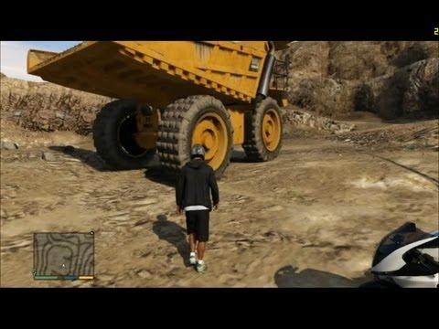 GTA V - The Biggest Truck Location