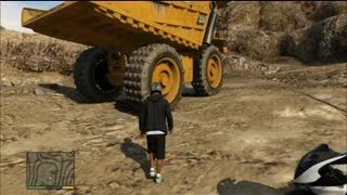 GTA V - The biggest Truck location