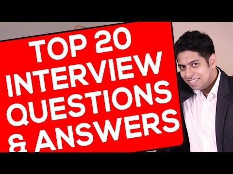 Top 20 Interview Questions and Answers : Interview Tips in H
