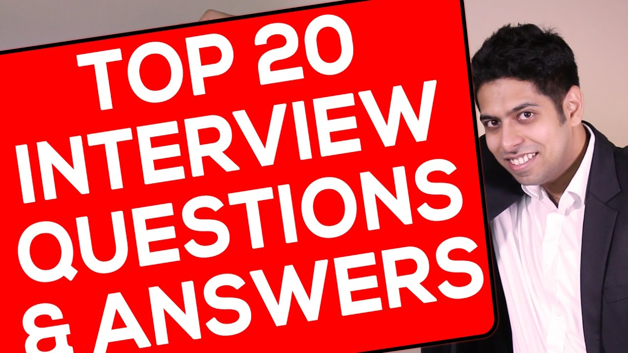 Top 20 Interview Questions And Answers : Interview Tips In Hindi   YouTube