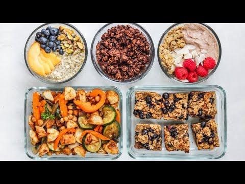5 Make Ahead Breakfast Ideas For School/Work (Easy, Healthy & Vegan)