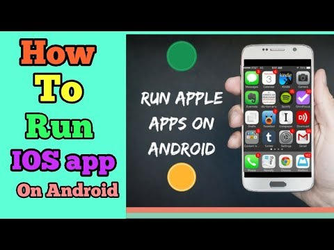 How To Run IOS App On Android||Easy 👉ways To Downloads Iphone🍎 App On Android
