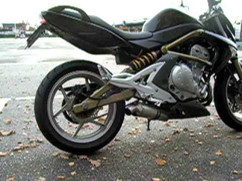 Kawasaki Er 6n Leovince Sbk Sound Check 2 Youtube