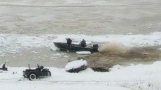 Рыбалка Ледяной плен Ледоход на реке Амур 2021 Таймлапс Amur river timelapse