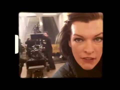Обитель зла 5: Возмездие (видео со съёмок 2)