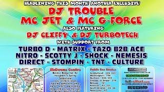 Dj Nitro & Nemesis Mc Tazo B2B Ace & Jet @ Powerhouse March 2005 CD