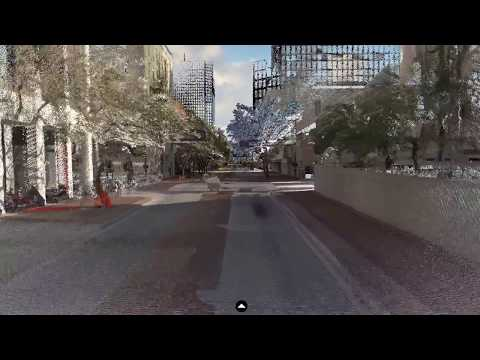 Autonomous Vehicle Site Mapping and Route Definition: Downtown Tampa